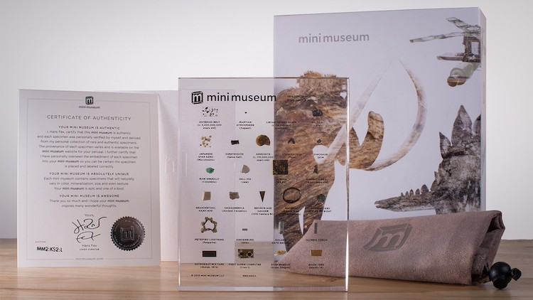 Mini Museum: 4.5 Billion Years of History Right In Your Hand