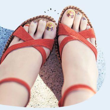 Red Sandal