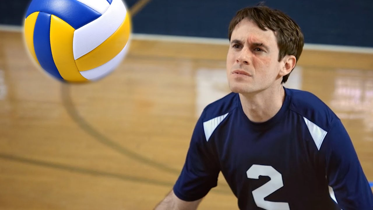 Scott Sterling Uses His Face to Make Amazing Volleyball Blocks in a Studio C Comedy Sketch