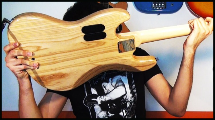 Talented Musician Demonstrates Thirty Different Ways to Play the Bass in Just Two Minutes