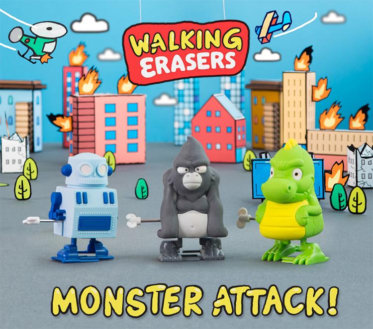 Walking Erasers