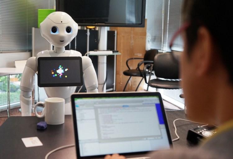 Pepper Robot Taking an Order
