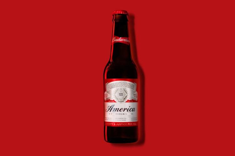 Budweiser America Bottle