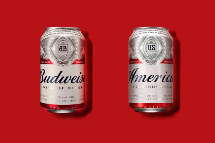 Budweiser America Cans