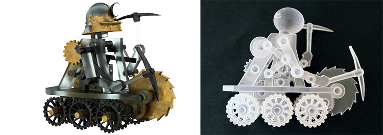 Disney Research Software Simplifies The Creation Process Of 3d Printed Mechanical Characters