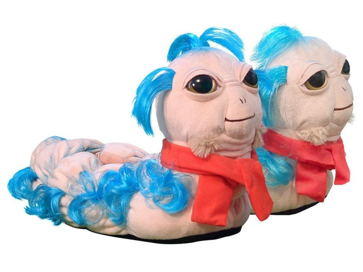 'Ello Worm Plush Slippers