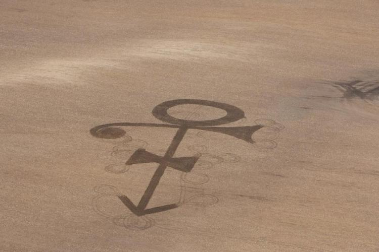 North Dakota Farmer Creates A Lovely Tribute To Prince By Plowing