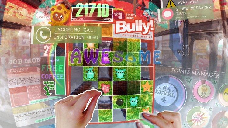 Hyper-Reality Game Screen