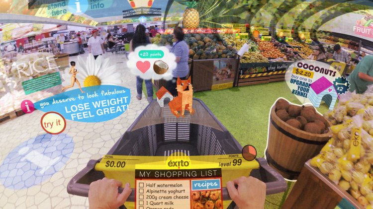 Hyper-Reality Grocery Store