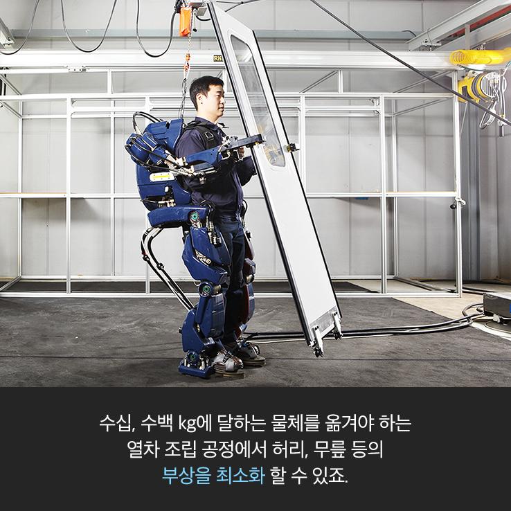 Hyundai Exoskeleton Man Lifting