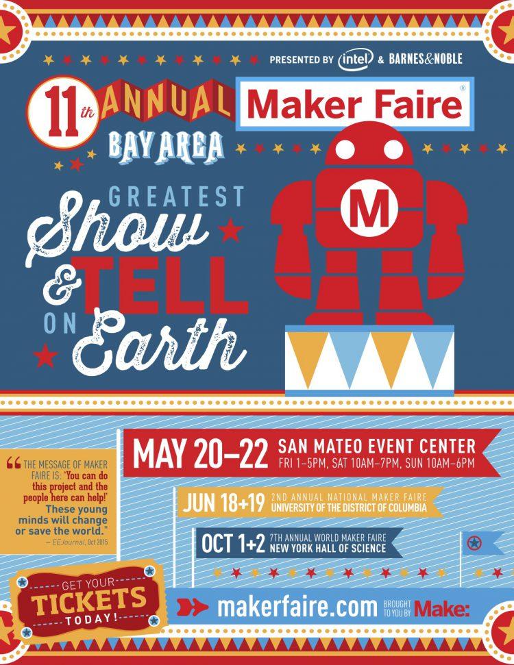 Maker Faire Bay Area 2016 Flier