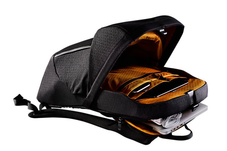 North Face Access Pack Openo n Side