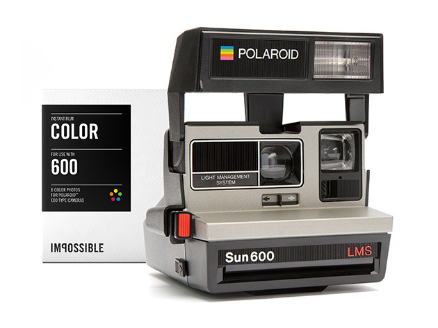 Polaroid 600 Camera and Film Pack