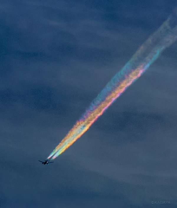 Rainbow Contrail Cropped