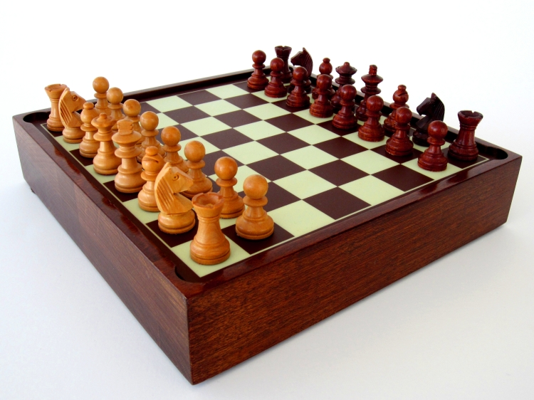 Preset Chess Ready for Play