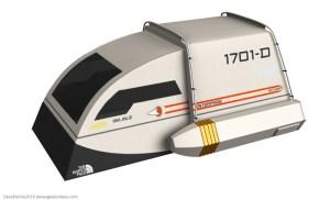 Star Trek Shuttlecraft Tent