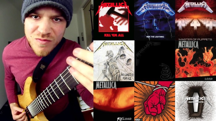 Guitarist Rob Scallon Plays Every Metallica Song in 4 Minutes