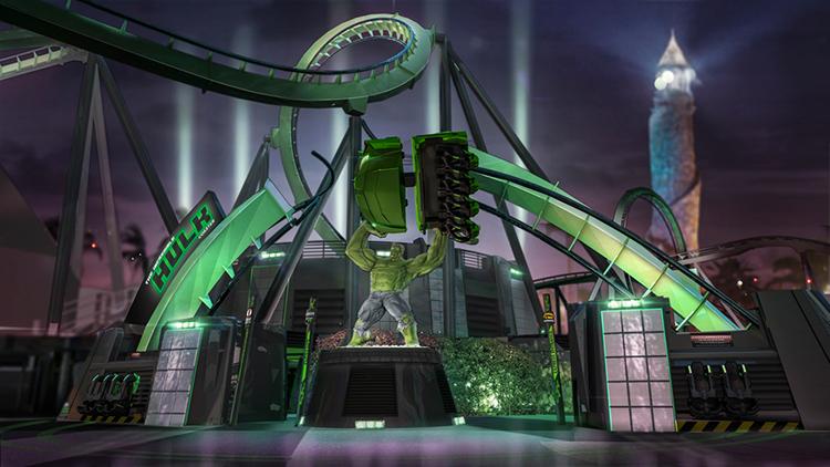 Hulk Coaster