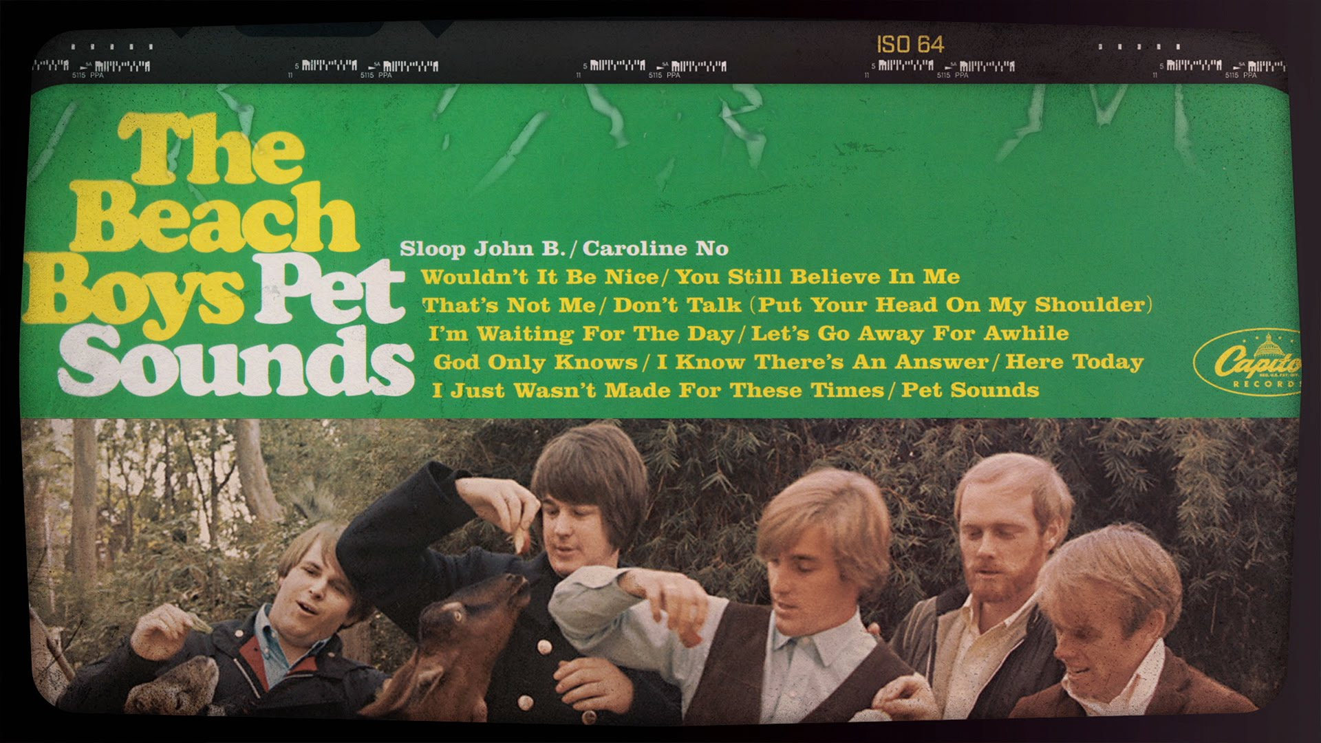 The Lasting Effect That the Beach Boys Iconic 'Pet Sounds' Concept Album Has Had On Music