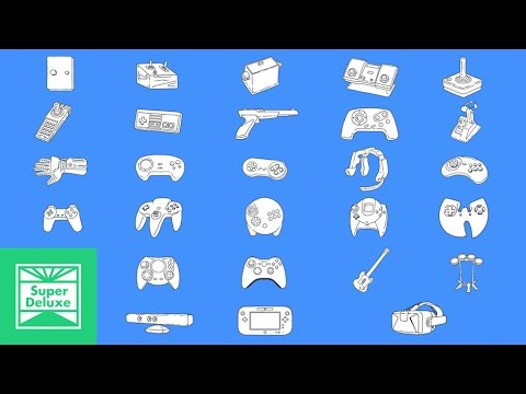 A Brief Animated History Of Video Game Controllers