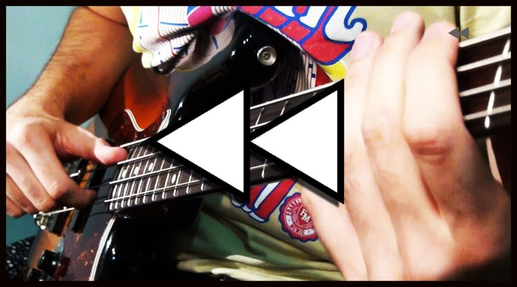 Bassist Plays a Backwards Solo That Sounds Correct in Reverse