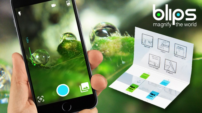 BLIPS, A Set of Lenses That Transform Your Devices Into Portable Digital Microscopes