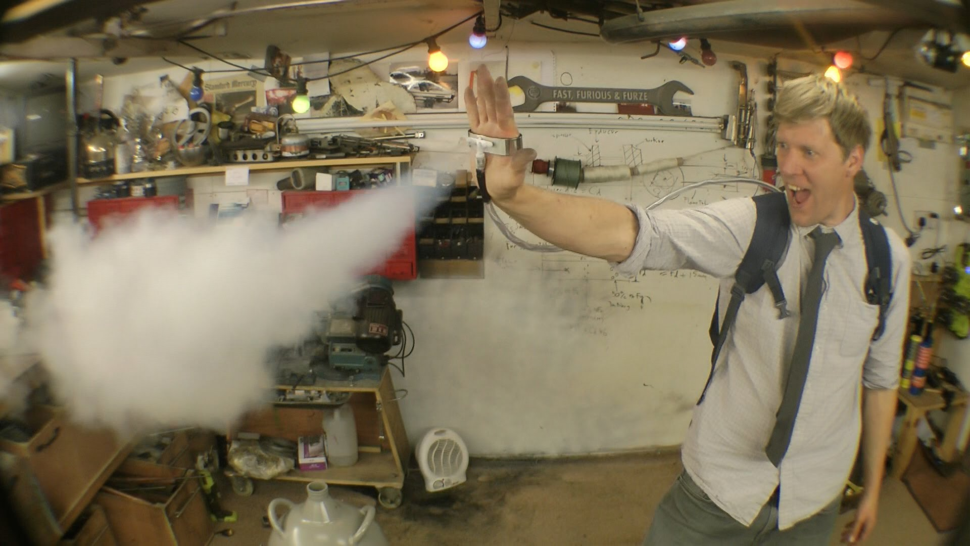 Colin Furze Freezes Stuff Like Marvels Iceman With A Palm Mounted