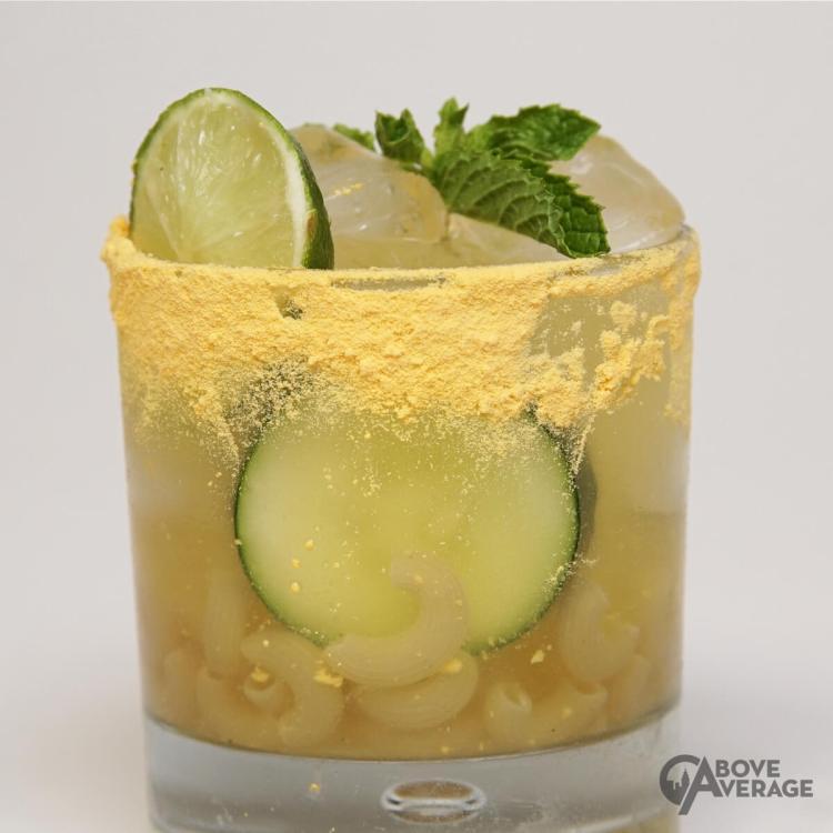 Cucumber Lime Extra Cheesy Margarita