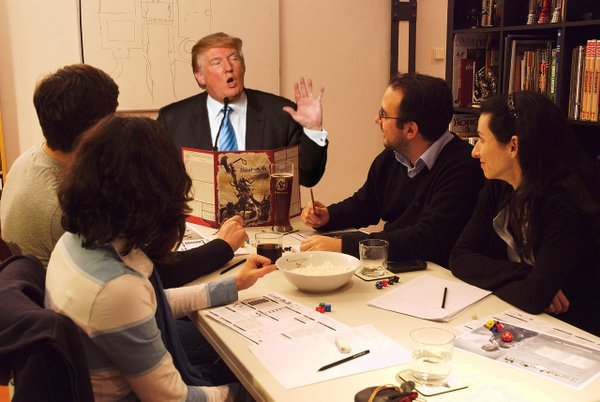 Dungeons and Donalds, A Parody Twitter Account Combining Donald Trump and Dungeons & Dragons