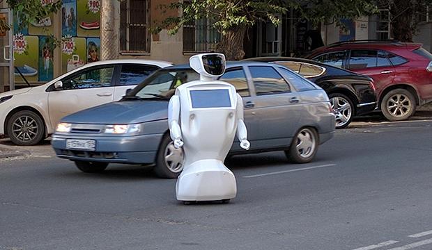 Fleeing Robot