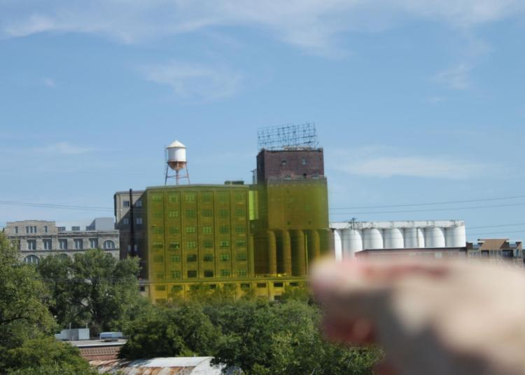 Golden Ratio Finder Against Building