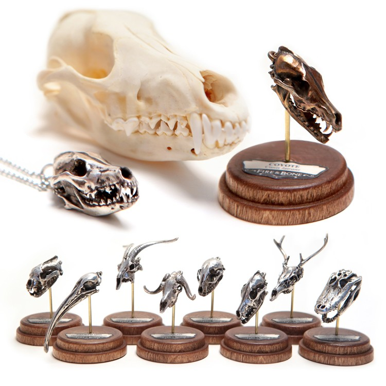 New Animal Skull Miniatures From Fire & Bone