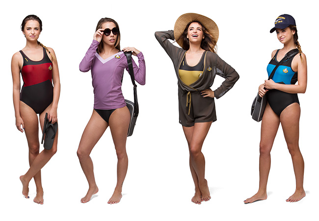 Star Trek TNG Swimwear