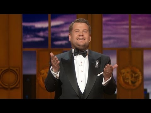 70th Annual Tony Awards Hosted James Corden Featuring