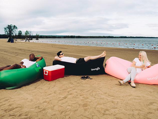 Loungr Chairs on a Beach