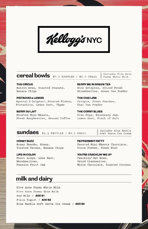 Kellogg Company Cereal Cafe 5