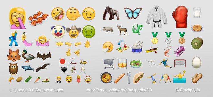 New Unicode 9 Emoji