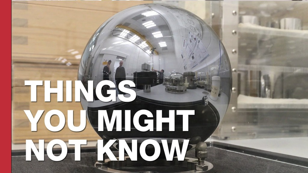 Tom Scott Reveals That Nobody Is Exactly Sure How Much a Kilogram Weighs Right Now
