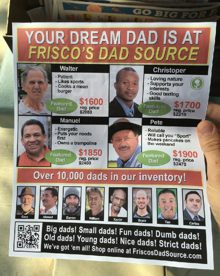 Dad Flyer