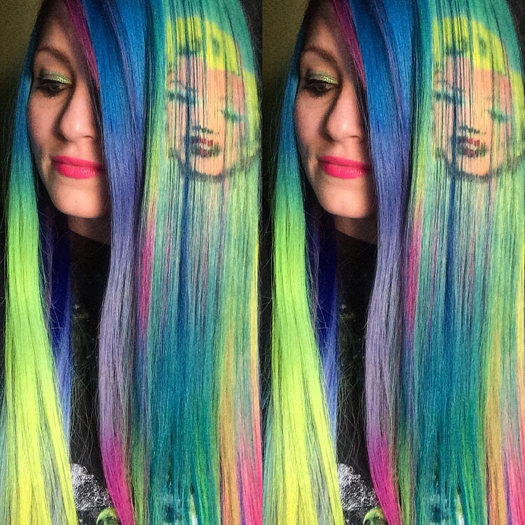 Art color hair - Kansas Color Stylist Reproduces Famous Works Of Art Onto Hair With The Creative Use Of Dye
