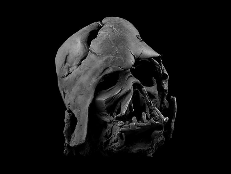 Darth Vader Helmet (Melted)