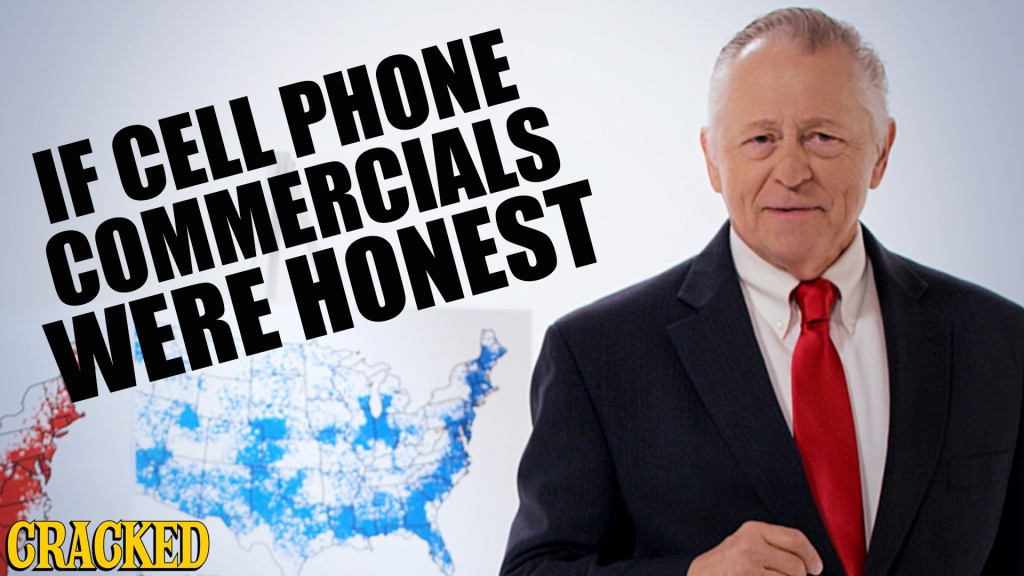 What If Cell Phone Commercials Were Honest