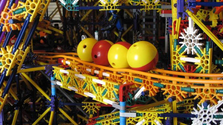 Citadel Knex Ball Machine