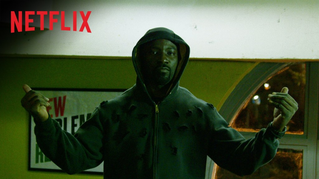 A Defiantly Bulletproof Luke Cage Dares the Bad Guys to Come Get Him in New Netflix Teaser Trailer