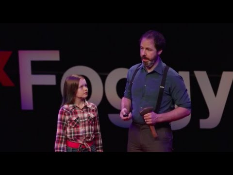 A Father and Daughter Give a TEDx Talk About Sharing Skills and Creativity Across Generations