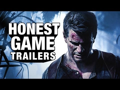 Honest Game Trailer For Uncharted 4: A Thief's End