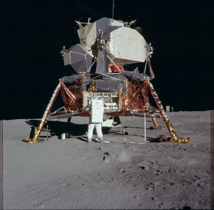 Apollo 11 on Moon