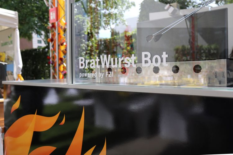 BratWurst Bot Grill