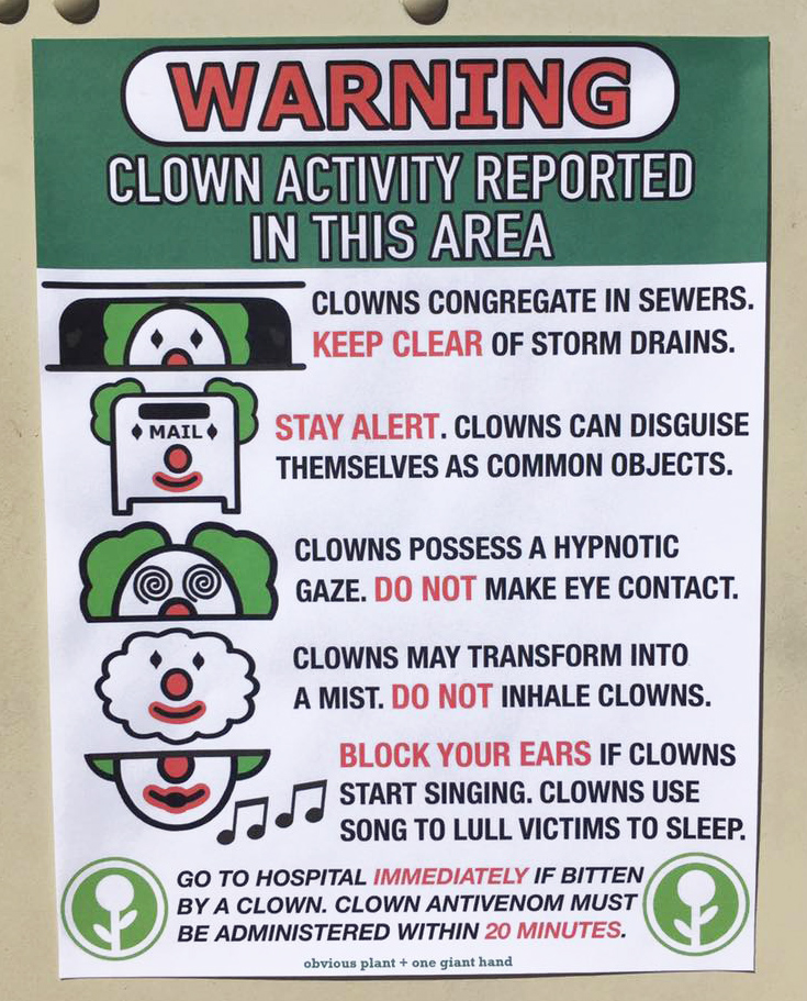 Clown Activity