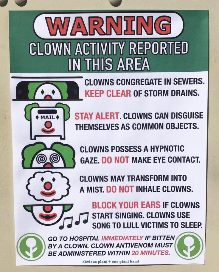 Clown Activity